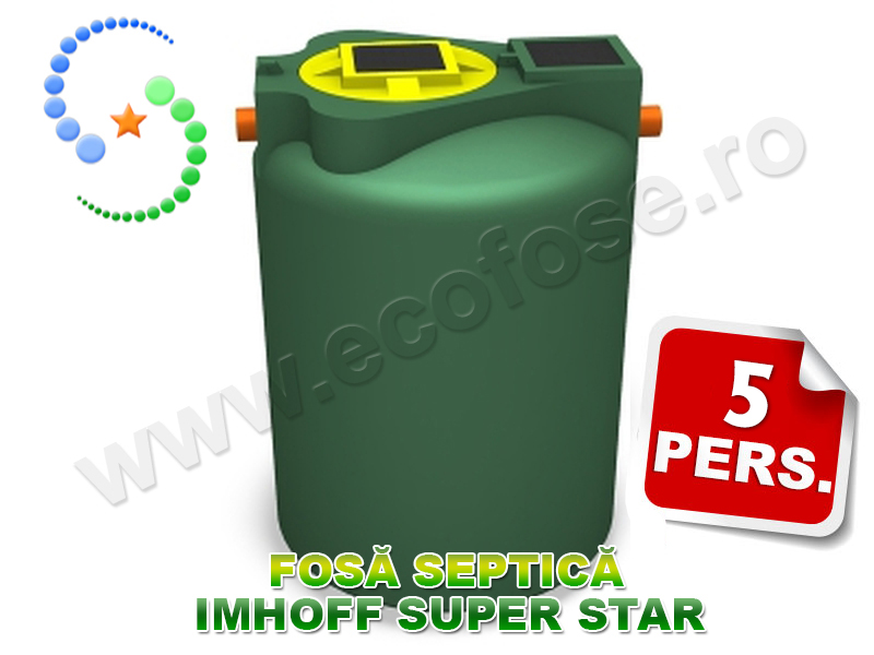 Fosa biologica IMHOFF SUPERSTAR 900