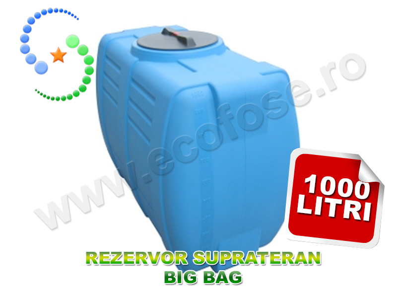 Rezervor suprateran Big Bag 1000